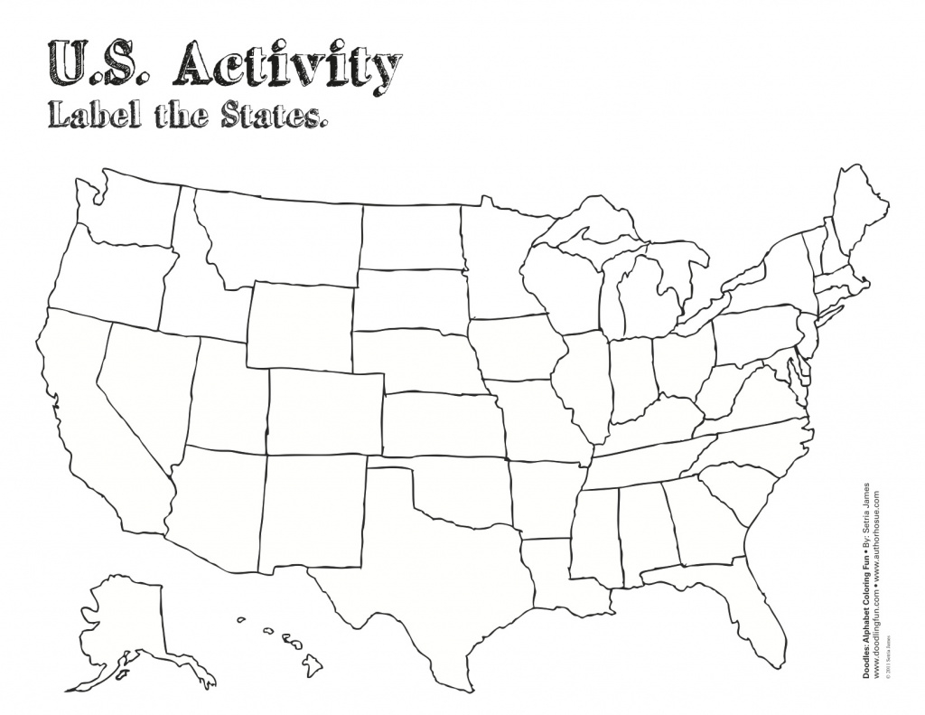 Free Blank Outline Map Of Us United States Map Pdf At Maps American regarding Blank State Map Pdf