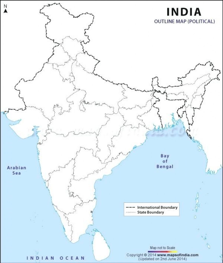 Free Political Map Of India With States Pdf – Peterbilt pertaining to India Map Pdf With States