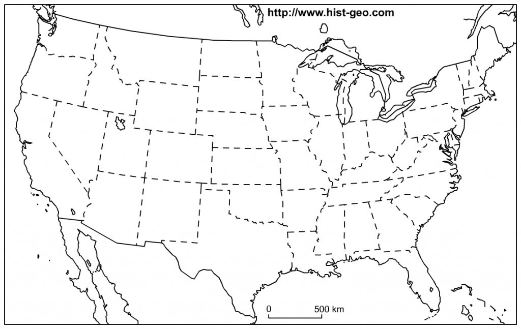 Free Printable Map Of The Great Lakes And Travel Information Intended For Great Lakes States Outline Map