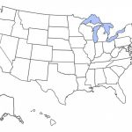 Free Printable Maps: Blank Map Of The United States | Educational With Blank State Map