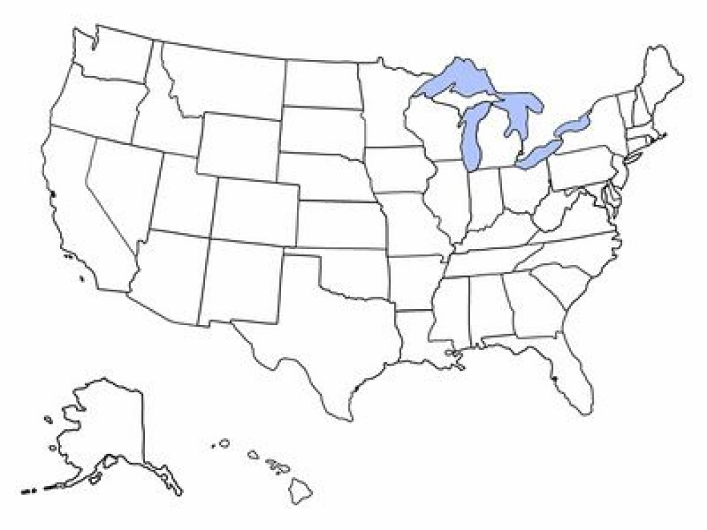 Free Printable Maps: Blank Map Of The United States | I Heart intended for A Blank Map Of The United States