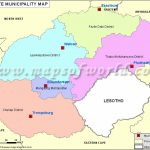 Free State Map   Municipalities In Free State, South Africa For Free State Map