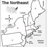 Free Us Northeast Region States & Capitals Maps | Worksheets For Northeast States And Capitals Map