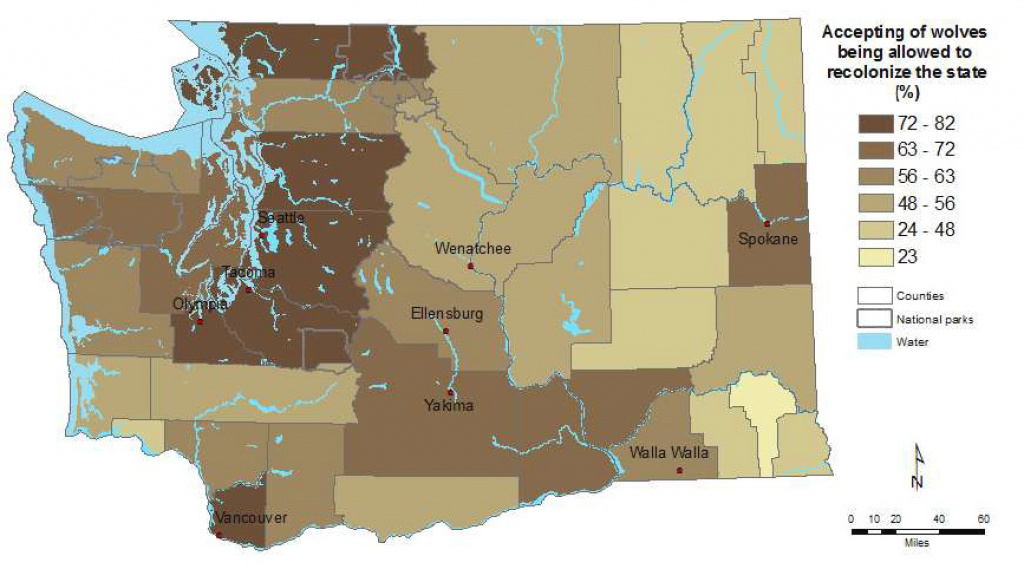 Frequently Asked Questions About Wolves In Washington | Washington regarding Bears In Washington State Map