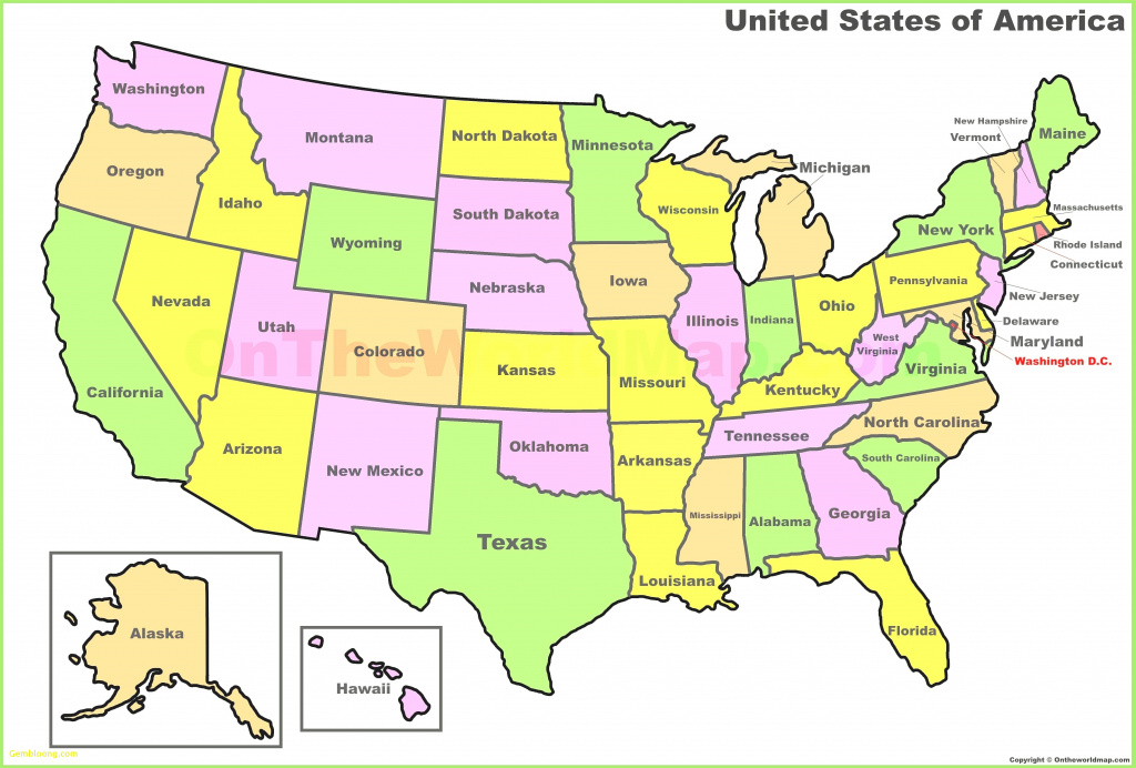Fresh Us State Capitals Interactive Map Labeled 52 States And in Us Map States And Capitals List