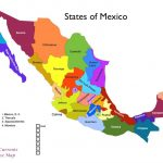 Full Map Of Mexico Inside And Its States For Provinces World Maps With Regard To Map Of Mexico And Its States