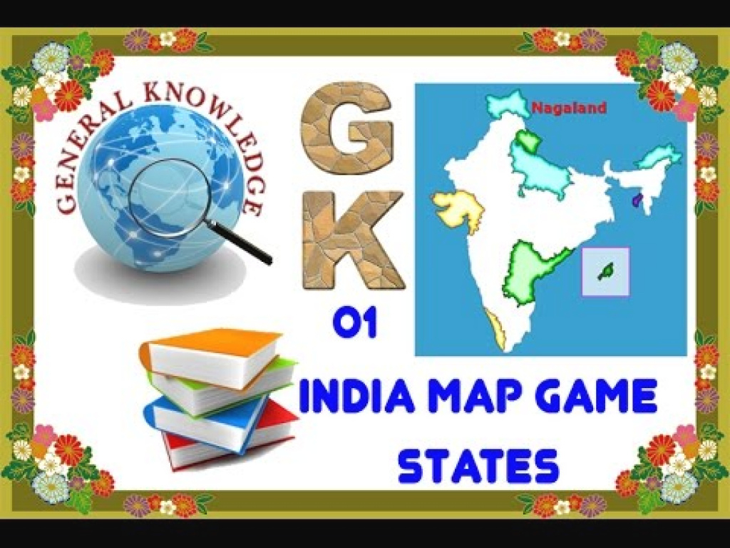 General Knowledge 01 India Map Game States - Youtube inside States Of India Map Game