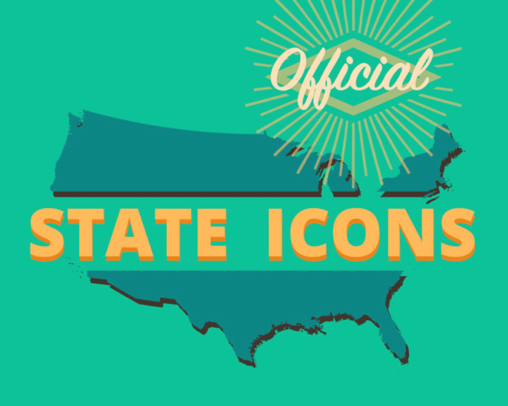Geo-Joint: Official State Icons - Journeysmaps in Google Maps Welcome To State Icons