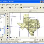 Geo327G/386G Lab 2   Map Projections And Coordinate Systems With Regard To Texas State Plane Coordinate Map
