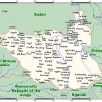 Geography Of South Sudan   Wikipedia Within Map Of South Sudan States And Counties