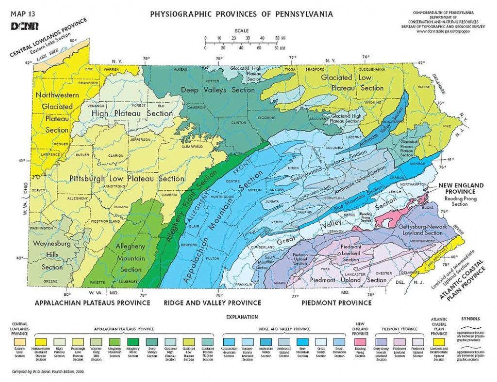 Geology Of Pennsylvania - Wikipedia with regard to Penn State Soil Map