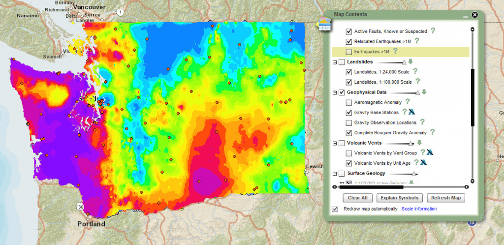 Geology Portal Gets Updated – Washington State Geology News with regard to Washington State Tsunami Map