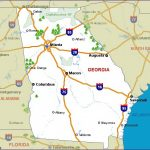 Georgia Camping Resources And Information For Georgia State Parks Map