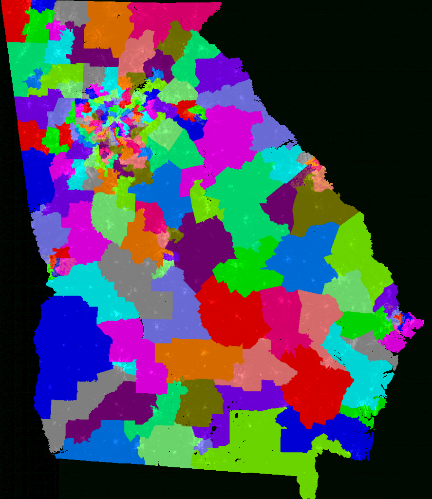 Georgia House Of Representatives Redistricting inside Georgia State House District Map