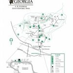 Georgia State Park Maps   Dwhike For Georgia State Parks Map