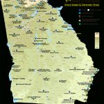 Georgia State Parks & Historic Sites Map | State Parks & Historic Sites With Regard To Georgia State Parks Map