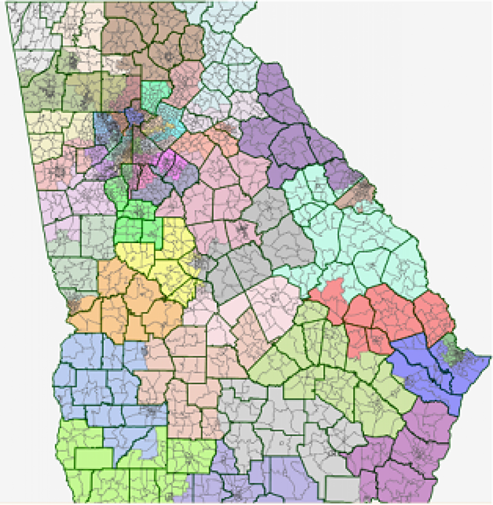 Georgia State Senate Analysis within Georgia State Senate District Map
