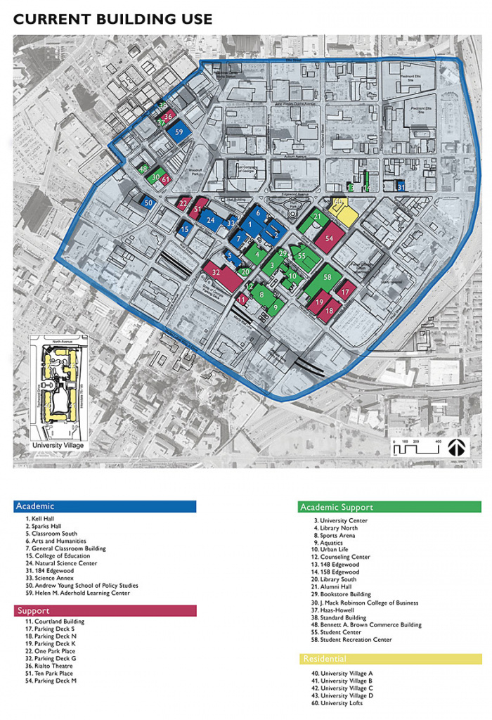 Georgia State University Map – Bnhspine inside Middle Georgia State University Campus Map