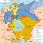 German Confederation   Wikipedia Within German States Map 1850
