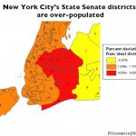 Gerrymandering In New York State | Prison Gerrymandering Project With New York State Senate Map