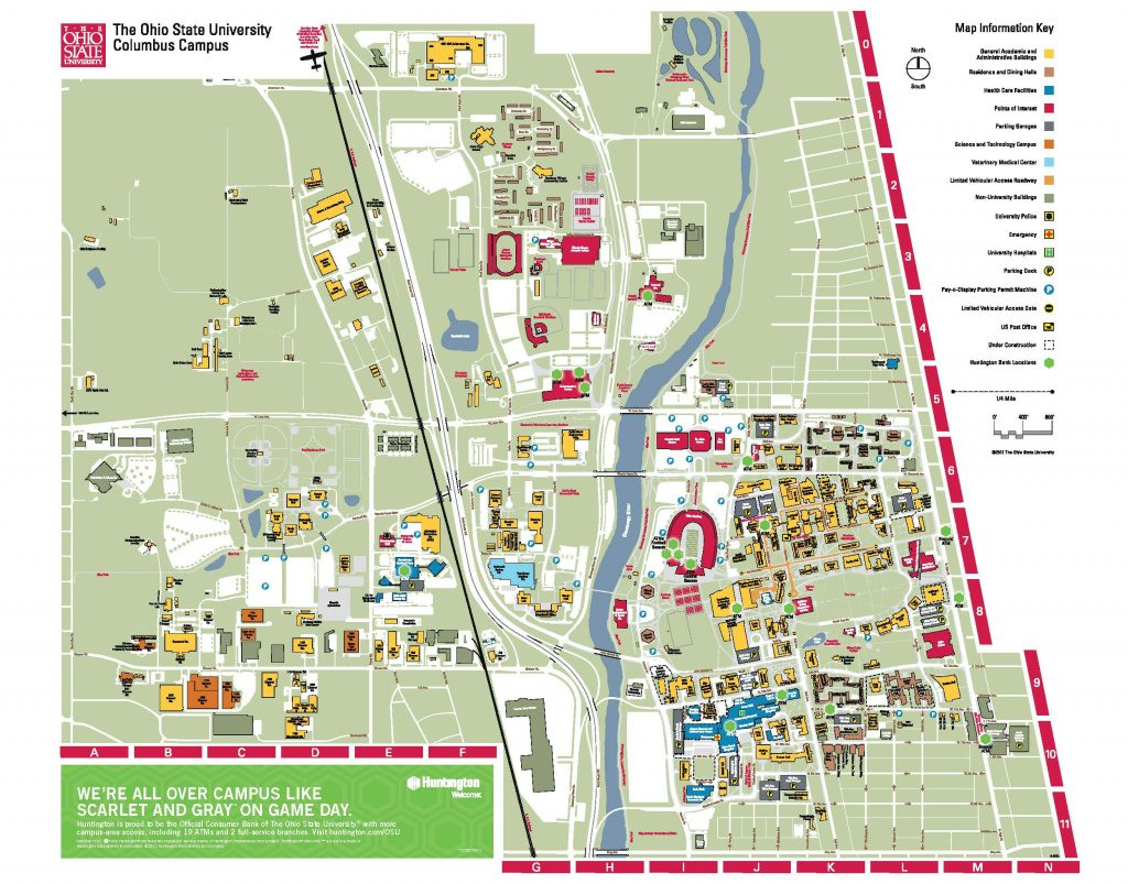 Getting Around Campus Within Columbus State Campus Map