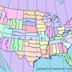Gis Manual: Fundamentals Of Map Projections Within State Plane Coordinate System Map
