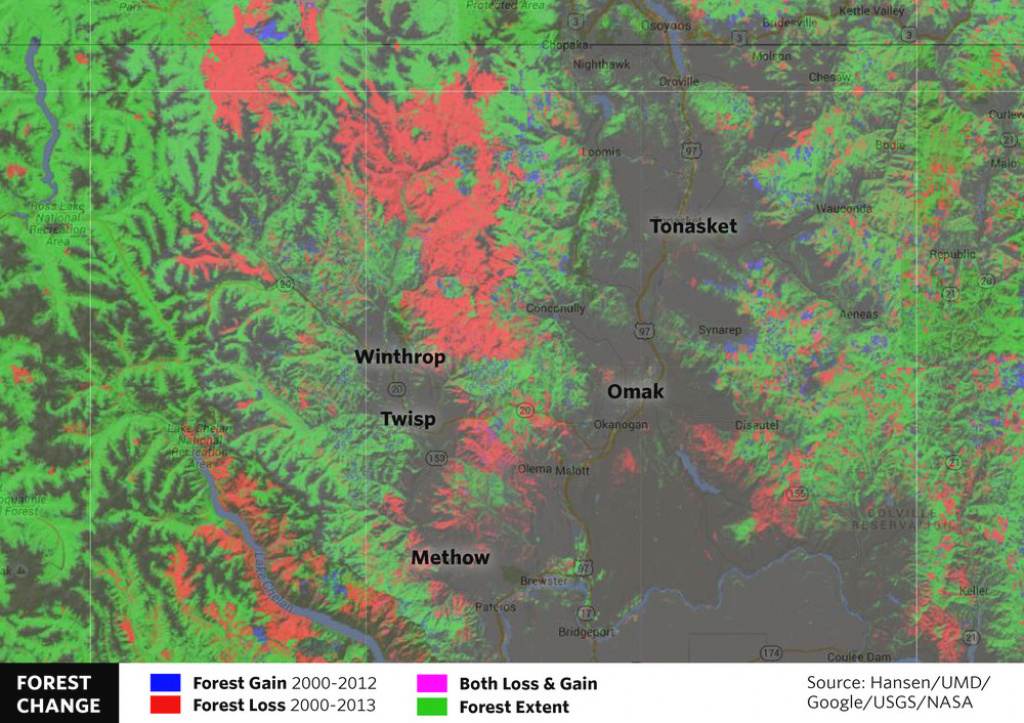 Global Forest Maps Give Local Insights — The Nature Conservancy In with regard to Washington State Fire Map