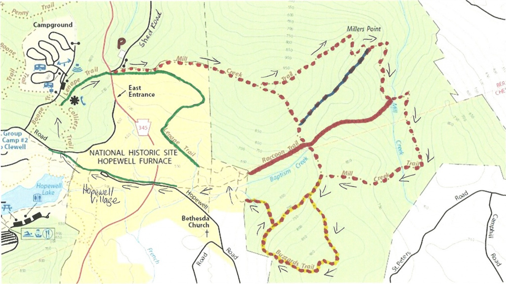 Gone Hikin': French Creek State Park, Pa And Hopewell Furnace in White Clay Creek State Park Trail Map