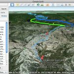 Google Earth Trail Flyover – Western States Endurance Run Intended For Western States 100 Map