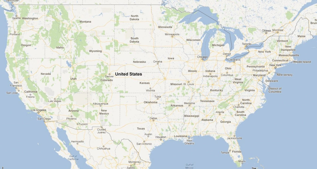 Google Map Us States California – Map Of Usa District for Usa Map With States And Cities Google Maps