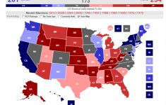 Grim Election Map For Trump? Fox Analyst Vs. Rcp Vs. Mish throughout States Hillary Won Map