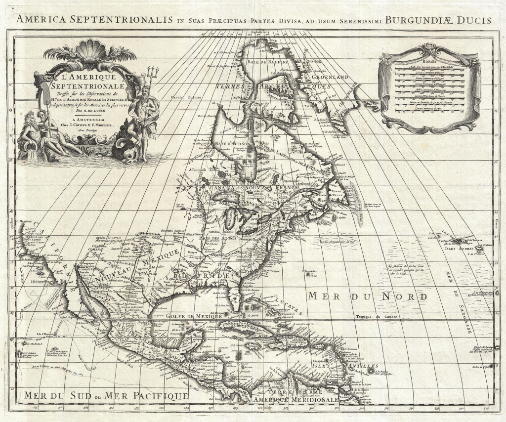 Guillaume Delisle - Wikipedia pertaining to 1700 Map Of The United States