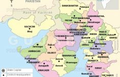 Gujarat Map | Districts Map Of Gujarat | Gujarat State Map within State Map Com
