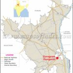 Gurgaon Location Map, Where Is Gurgaon Within Is State Map
