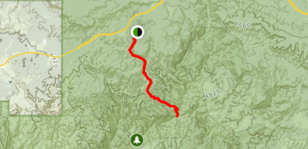 Hells Gate Trail - Arizona | Alltrails throughout Hells Gate State Park Trail Map