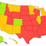 Here's A Map Of Every State And Their Marijuana Laws With States Where Weed Is Legal Map 2016