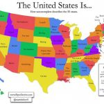Here's How Google Auto Complete Describes All 50 States: | Random In Map Of All 50 States