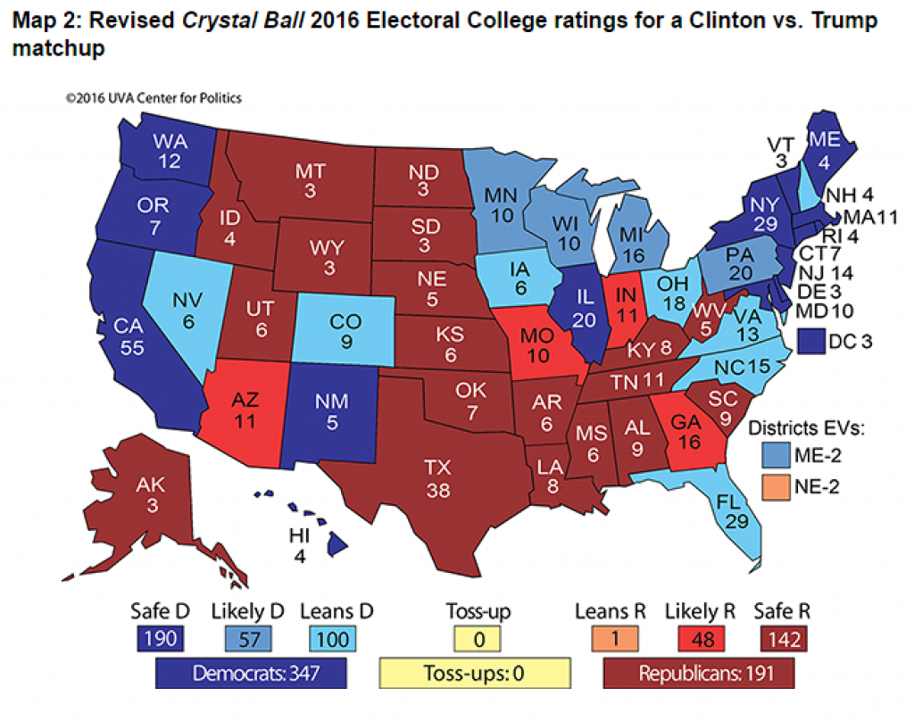 Here's The Map That Shows Why The Gop Is Freaking Out About Trump pertaining to Trump States Map