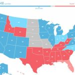 Here's What The Electoral College Map Would Look Like If Only Inside Trump Support By State Map