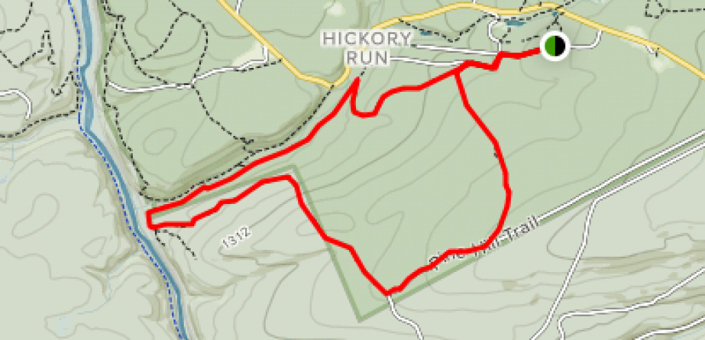 Hickory Run State Park Area Trails - Pennsylvania | Alltrails inside Hickory Run State Park Trail Map