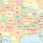 High Resolution Us Map With Regard To High Resolution Map Of Us States
