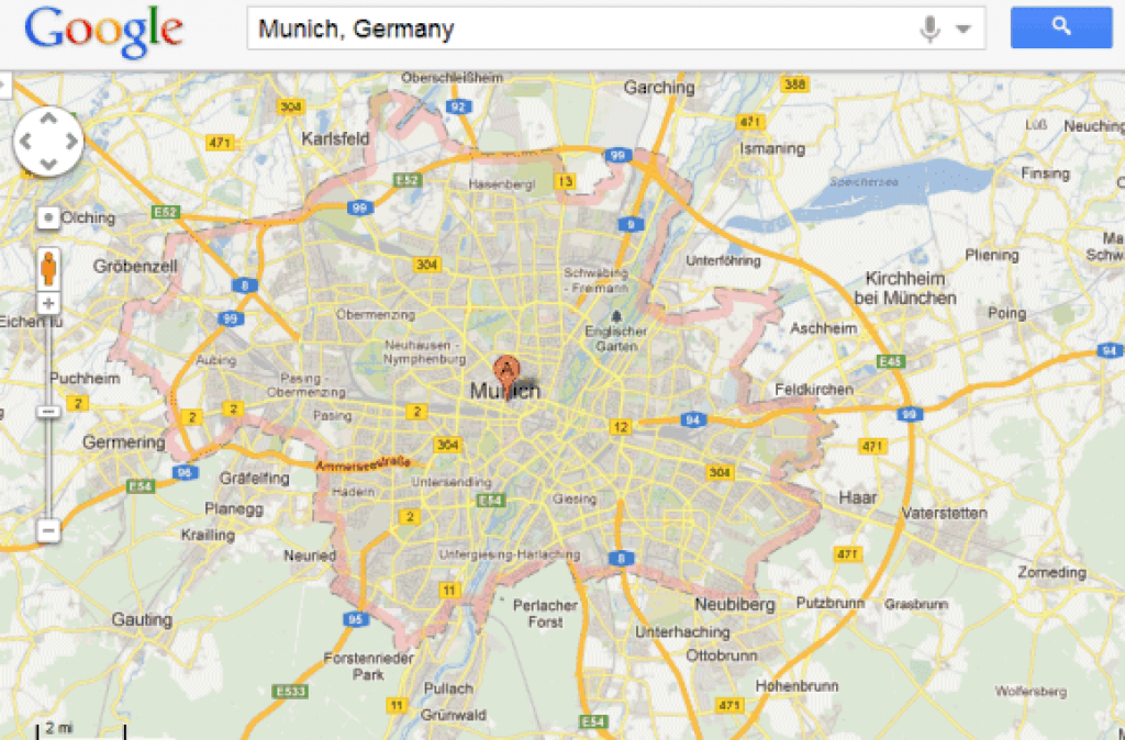Highlight Areas In Google Maps throughout Google Maps State Borders