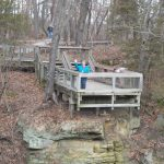 Hike Starved Rock: Dec. 10, 2015 Starved Rock, French, Wildcat And For Starved Rock State Park Trail Map