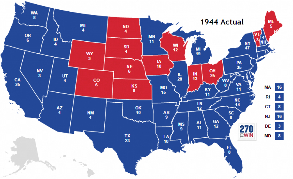 Historical U.s. Presidential Elections 1789-2016 with States Electoral Votes 2016 Map