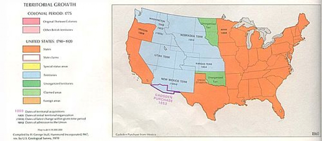 History Of The United States (1849–1865) - Wikipedia with Blank Map Of United States In 1860