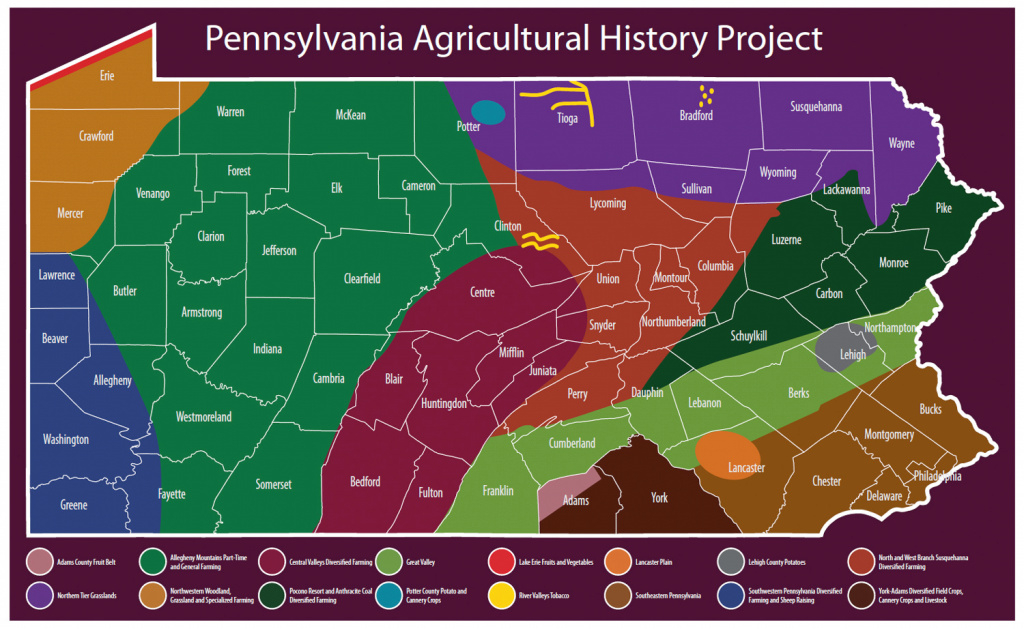History | Phmc > Pennsylvania Agricultural History Project intended for Penn State Soil Map