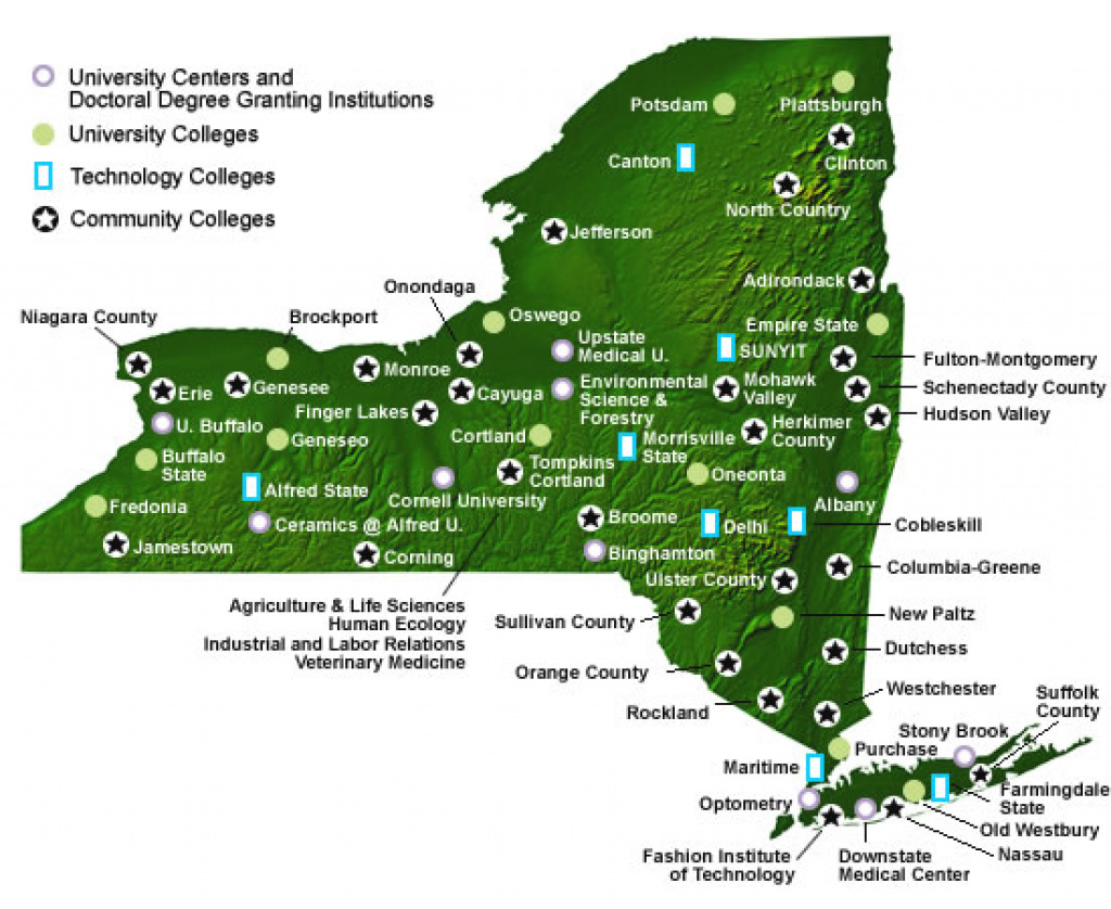 Home Page Sunyppaa inside State University Of New York Map