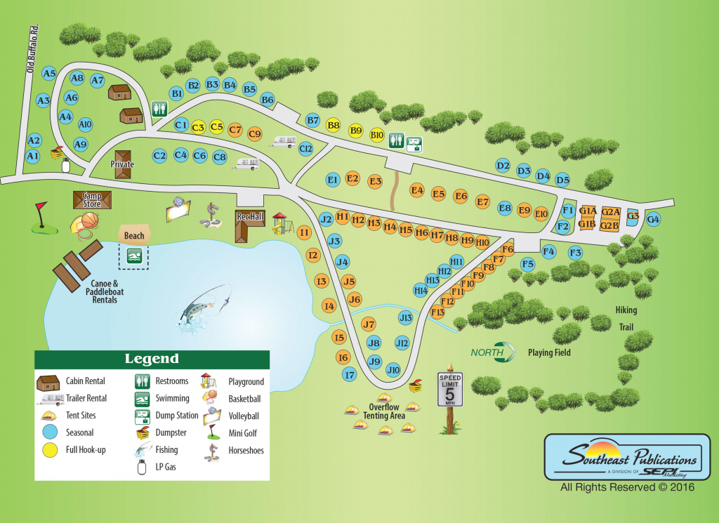Home with Letchworth State Park Camping Site Map