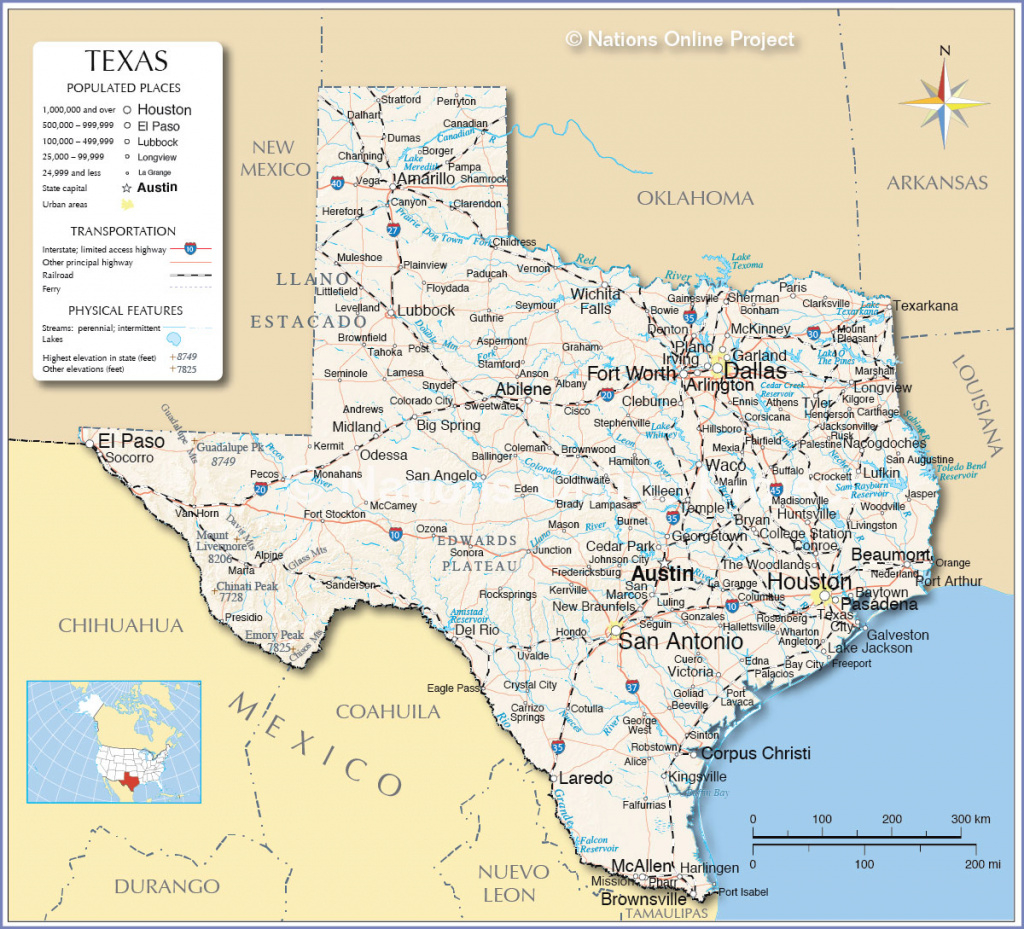 Houston Ranks #4 On List Of Most Dangerous Texas Cities – Spring with regard to Map Of Texas And Surrounding States