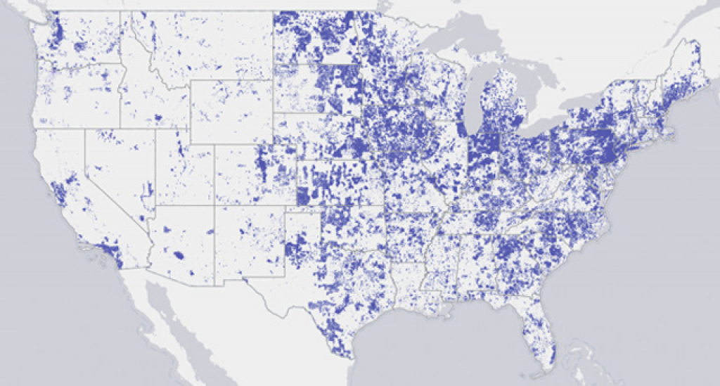 How Connected Is Your Community? | Billmoyers in United States Internet Map